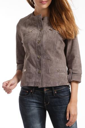 Куртка RINO & PELLE. Цвет: серый