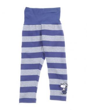 Повседневные брюки MONNALISA NY & LON. Цвет: темно-синий