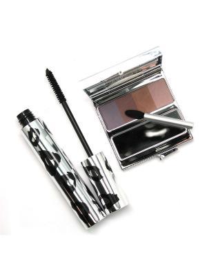 Набор декоративной косметики 2 по цене 1 ИЛЛОЗУР. Цвет: черный, коричневый, сливовый