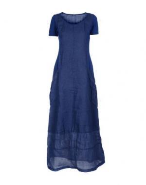 Длинное платье EUROPEAN CULTURE. Цвет: синий