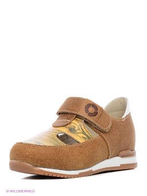 Туфли TAPiBOO. Цвет: коричневый