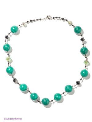 Ожерелье Migura. Цвет: зеленый, черный