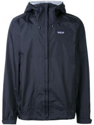 Спортивная куртка Torrentshell Patagonia. Цвет: чёрный