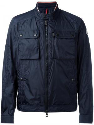 Спортивная куртка Moncler. Цвет: синий