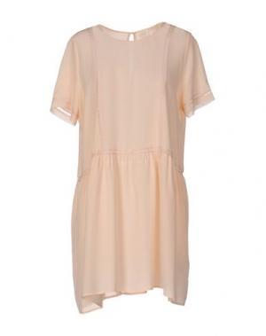 Короткое платье DES PETITS HAUTS. Цвет: абрикосовый