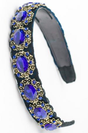 Ободок FRANSUA ARDY. Цвет: синий