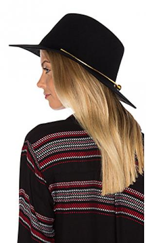 Шляпа jagger KIN/K. Цвет: черный