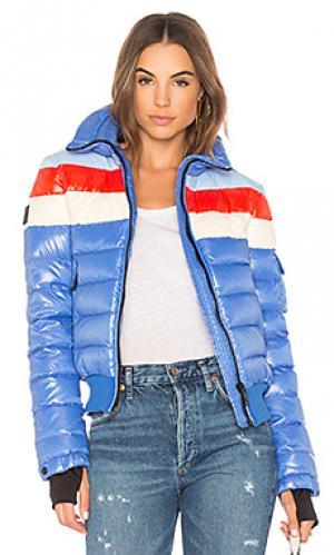 Дутая куртка SAM.. Цвет: синий