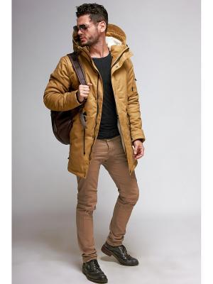 Куртка мужская Nikolom. Цвет: желтый