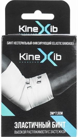 Эластичный бинт , белый Kinexib