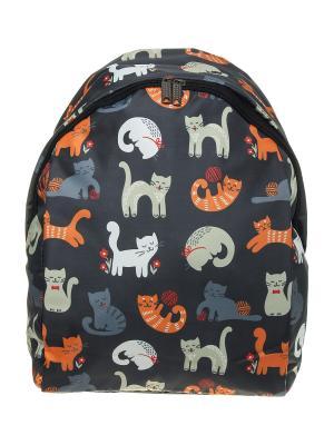 Рюкзак ПодЪполье. Цвет: черный, серый, оранжевый, белый