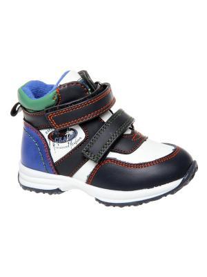 Ботинки Сказка. Цвет: темно-синий, зеленый