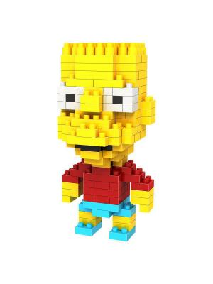 Конструктор Барт - реальный пацан Loz. Цвет: белый