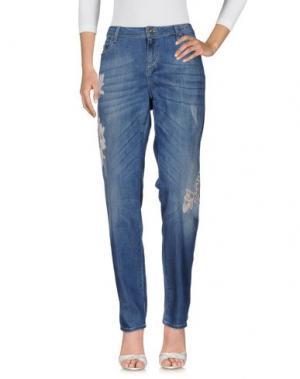 Джинсовые брюки MARELLA SPORT. Цвет: синий