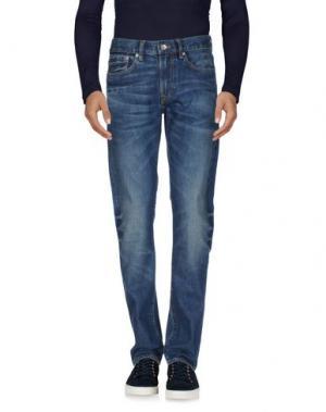 Джинсовые брюки CLUB MONACO. Цвет: синий