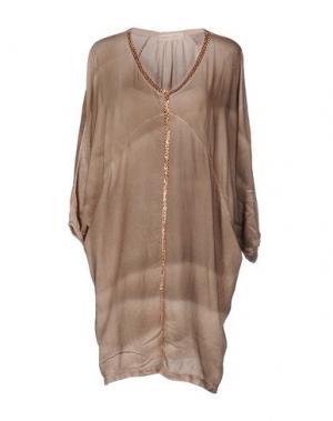 Блузка MONICA •LENDINEZ. Цвет: хаки