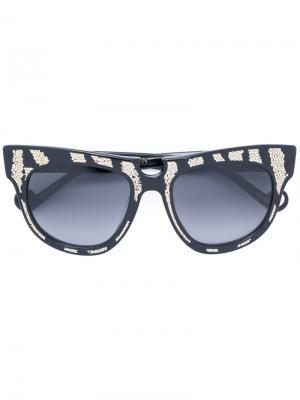 Солнцезащитные очки Ladybird Anna Karin Karlsson. Цвет: чёрный