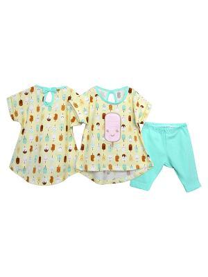 Комплект одежды Baby Boom. Цвет: светло-зеленый