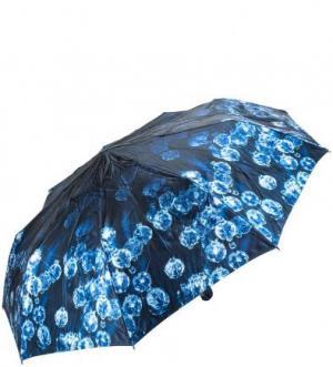 Складной зонт с системой антиветер Zest. Цвет: синий