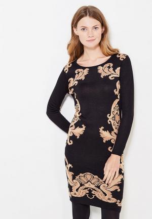Платье Passioni. Цвет: черный