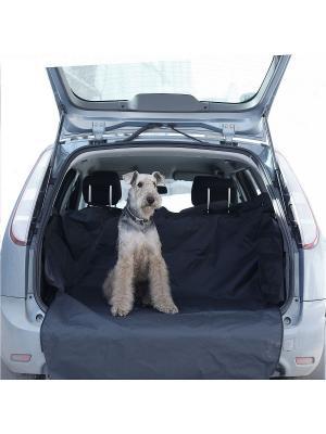 Автогамак OSSO Car Premium в багажник OSSO-fashion. Цвет: серый