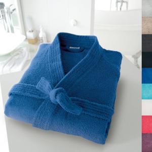 Халат-кимоно 350 г/м² SCENARIO. Цвет: белый,голубой бирюзовый,гренадин,светло-серый,серо-бежевый,синий морской волны,темно-серый,фиолетовый,черный