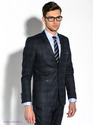 Пиджак Alex DANDY. Цвет: темно-синий, черный