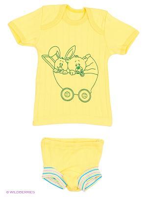 Комплекты одежды для малышей Русь симбирская. Цвет: желтый