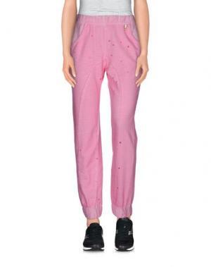 Повседневные брюки 22 MAGGIO by MARIA GRAZIA SEVERI. Цвет: светло-фиолетовый