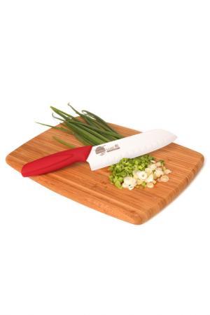 Нож японский, 180 мм Supra. Цвет: белый, красный