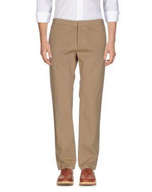 Повседневные брюки BAND OF OUTSIDERS. Цвет: песочный