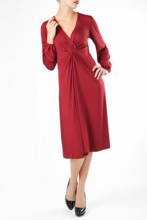 Платье ELLEN EISEMANN. Цвет: красный