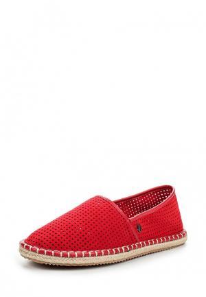 Эспадрильи Armani Jeans. Цвет: красный
