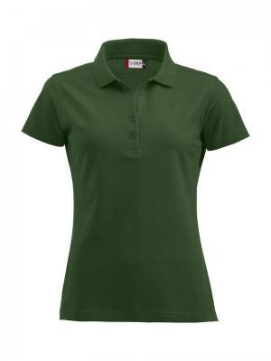 Clique Alba женская футболка-поло. Цвет: зеленый