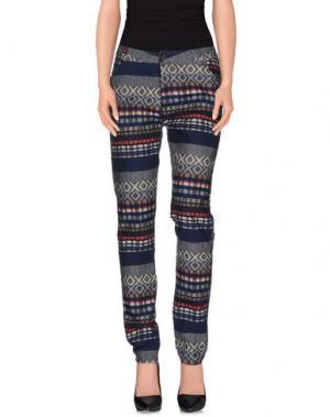 Повседневные брюки EDWIN. Цвет: темно-синий