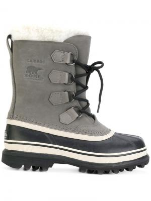 Ankle length boots Sorel. Цвет: чёрный