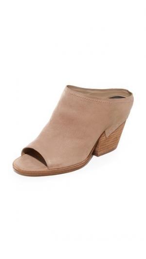 Туфли без задников Vanesa Dolce Vita. Цвет: серо-коричневый