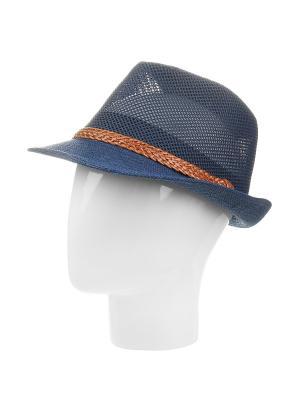 Шляпа Gusachi. Цвет: синий, коричневый