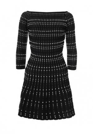 Платье Morgan. Цвет: черно-белый