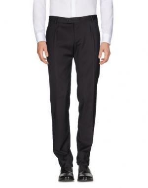 Повседневные брюки MAESTRAMI. Цвет: стальной серый