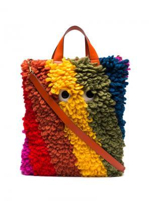 Сумка-шоппер Anya Hindmarch. Цвет: многоцветный