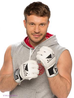 Перчатки Bad Boy Pro Series MMA. Цвет: молочный