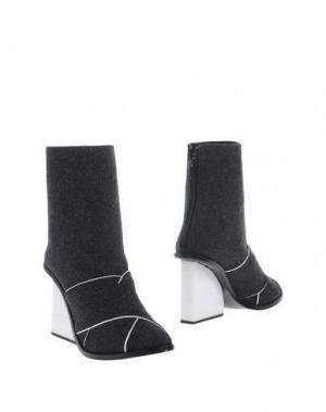 Полусапоги и высокие ботинки OPENING CEREMONY. Цвет: свинцово-серый