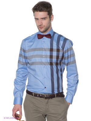 Рубашка R2 Westbrook. Цвет: голубой