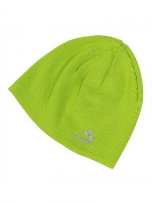 Вязаная шапка для малышей PEPPI HUPPA. Цвет: светло-зеленый