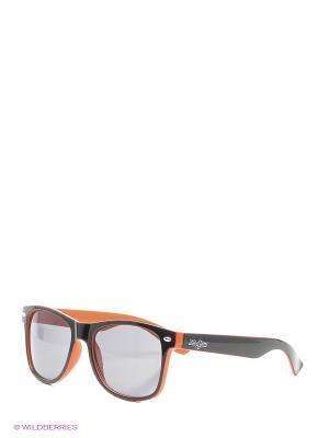 Очки ZIQ&YONI. Цвет: светло-оранжевый, черный