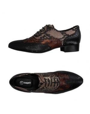 Обувь на шнурках BAGATT. Цвет: какао