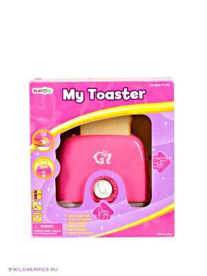 Игровой тостер PlayGo. Цвет: розовый