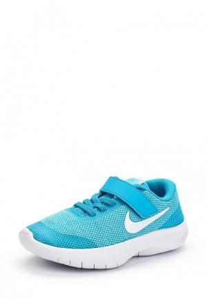 Кроссовки Nike. Цвет: голубой