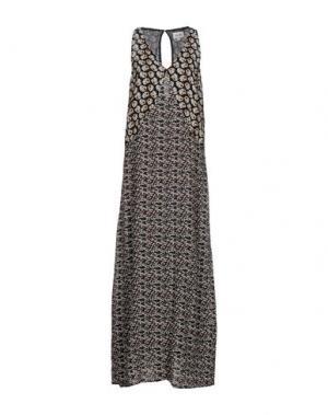 Длинное платье BELAIR. Цвет: черный